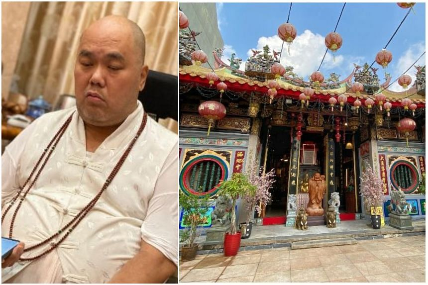 Venerable Tuan Boon is an abbot at Leong San See Temple. He was admitted to Farrer Park Hospital earlier this week.