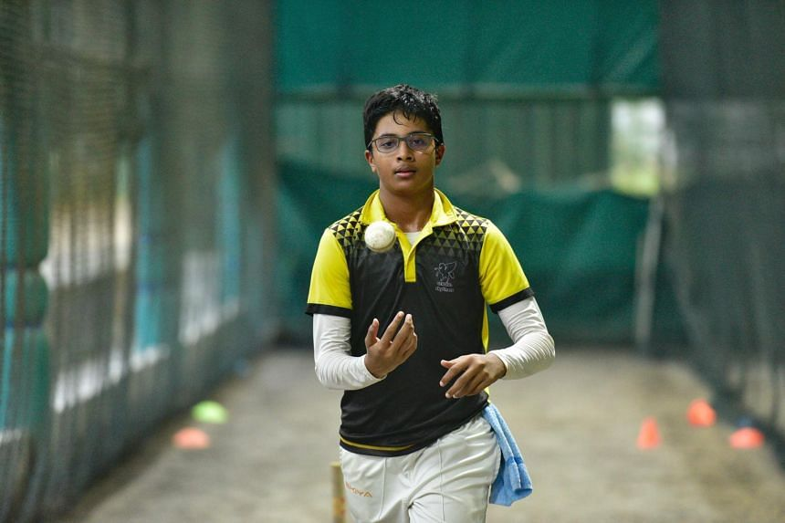 Jeevan Santhanam plays for Singapore's Under-16 team and hopes to pursue a career in the sport.