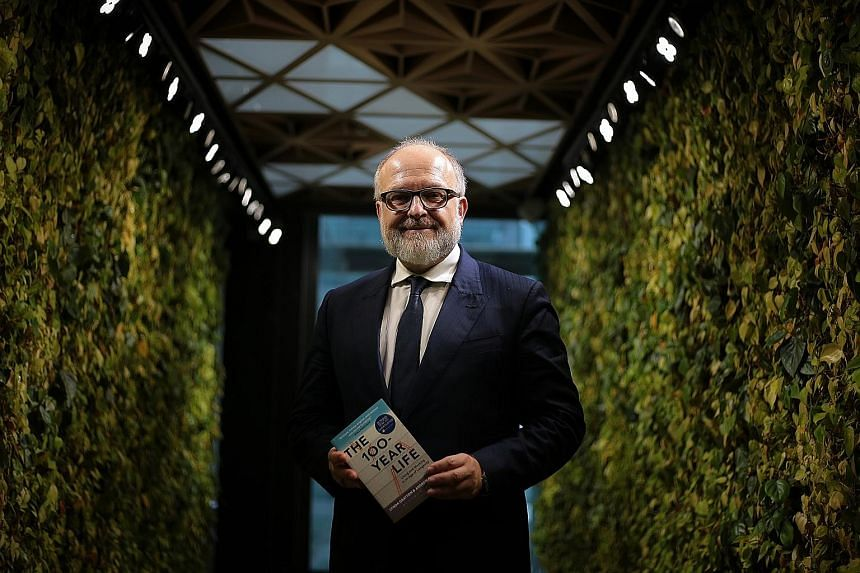 Professor Andrew Scott, 54, co-author of The 100-Year Life: Living And Working In An Age Of Longevity, says the current thinking about ageing will not work with people living longer.