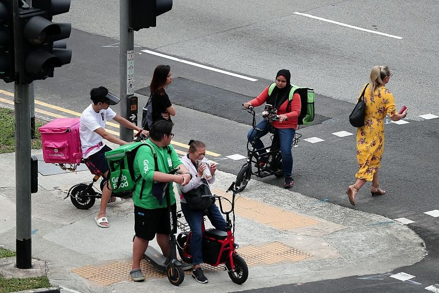 Food delivery riders and ride-hailing drivers may be earning more than in their previous jobs, but they could be vulnerable because of the lack of labour protection and opportunities for skills training, limiting their prospects for social mobility.