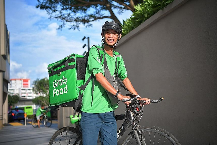 For food delivery rider Zane Chiang, what started as an interim job has ended up being a full-time job for the last three years.