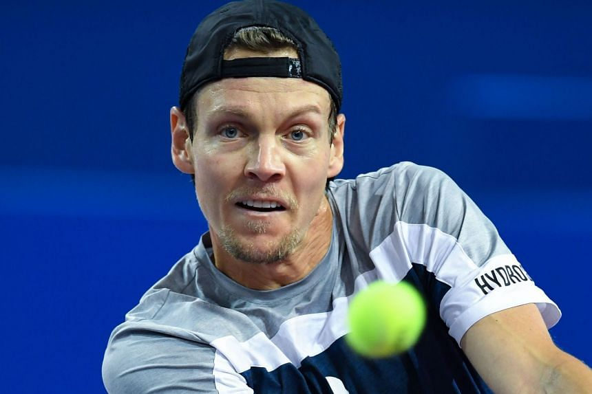 Berdych (above, in February 2019) was a fixture in the world's top 10 between 2010 and 2016.