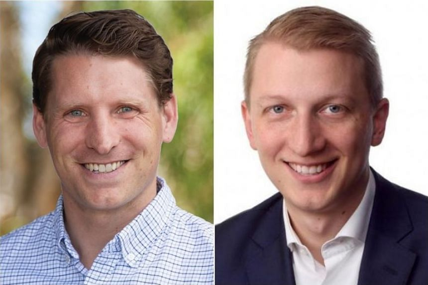 Andrew Hastie (left) and James Paterson were to visit China next month on a trip organised by the China Matters think-tank.