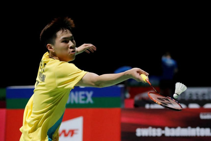 Hong Kong's Lee Cheuk Yiu in action on Aug 21, 2019. Lee won the Hong Kong Open on Nov 17, 2019.