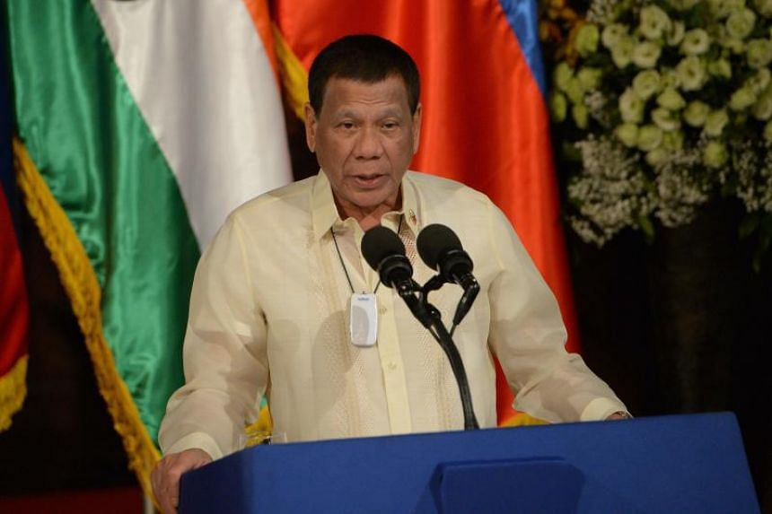 Philippine President Rodrigo Duterte, 74, revealed in October that he has myasthenia gravis, an autoimmune disease that causes muscle weakness and can result in drooping eyelids and blurred vision.