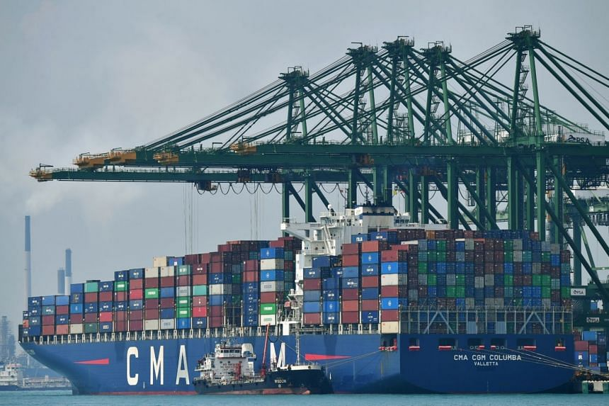 Shipments sank 12.3 per cent, from an 8.1 per cent drop in September.