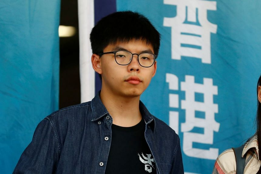 Joshua Wong has visited several countries in recent months to drum up foreign support for Hong Kong's activists.