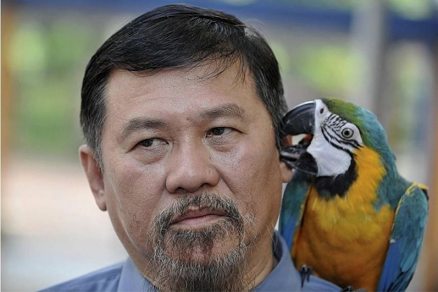 Mr Zeng Guoyuan had earned the moniker after blaming his pet parrot for getting him into trouble with the law.