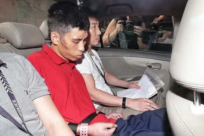 Gabriel Lien Goh faces two murder charges over the deaths of his mother, 56, and his 90-year-old grandmother.