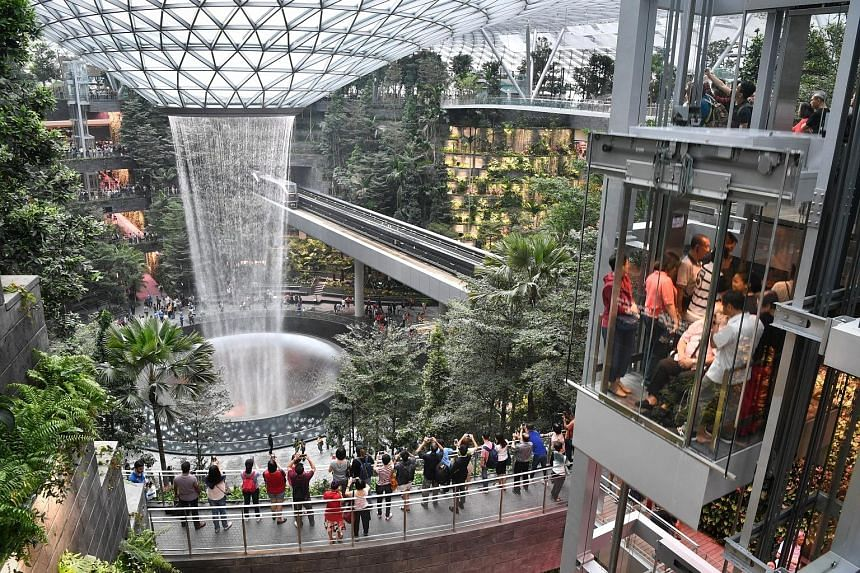 Jewel Changi Airport has won a Special Jury Award in this year's Mapic Awards, which recognise excellence, innovation and creativity in the real estate industry worldwide. Jury president Mayte Legeay said Jewel's innovative qualities in terms of arch