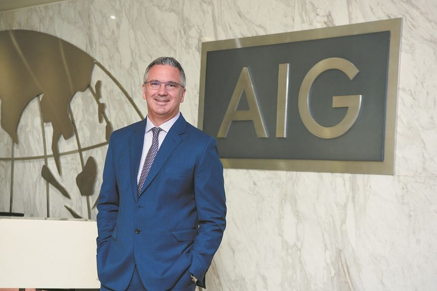 Mr Christian Sandric believes that the insurance industry as a whole must keep improving their data protection measures. PHOTO: AIG