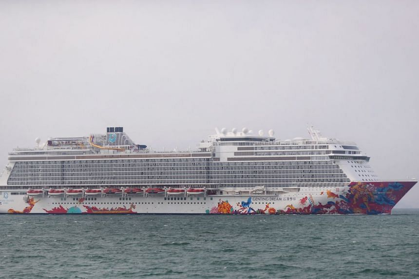 The boy was found unresponsive in one of the swimming pools aboard the cruise ship Genting Dream.