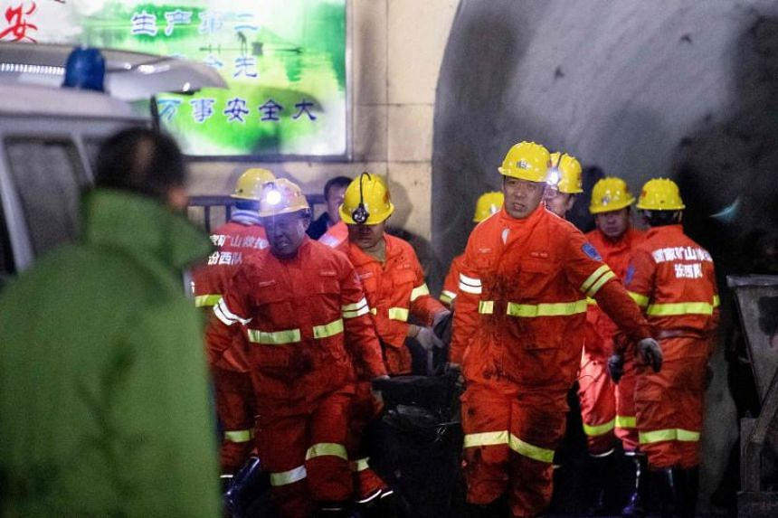 The explosion took place in a mine owned by Shanxi Pingyao Fengyan Coal & Coke Group Co.