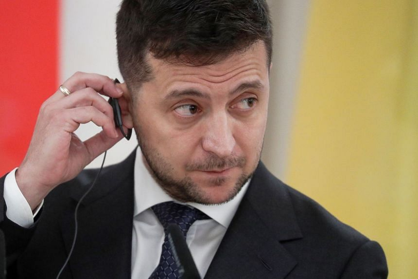Volodymyr Zelensky says Ukraine getting 'tired' of Donald Trump scandal