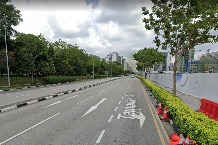 Two sections of Tampines Avenue 9 will be closed on Nov 26 and Nov 29, 2019, between 1.15am and 5am.