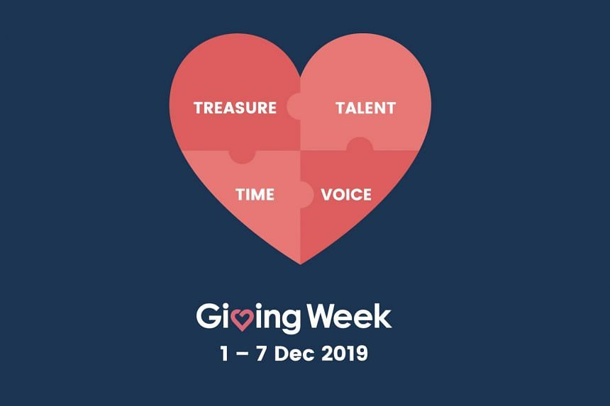 Find out all the different ways you can play a part at Giving Week 2019.