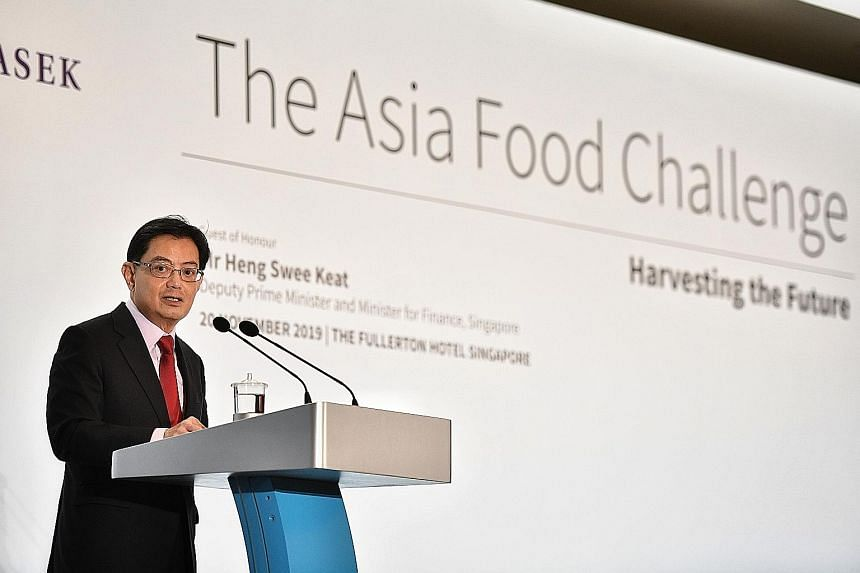 DEPUTY PRIME MINISTER AND FINANCE MINISTER HENG SWEE KEAT