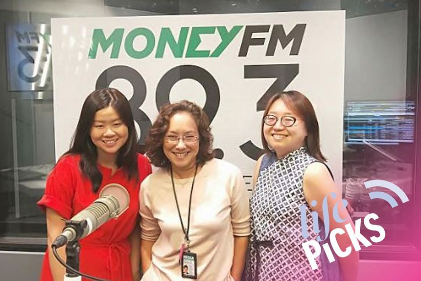 Money FM's Claressa Monteiro (centre) chats withST's food correspondent Eunice Quek(left) and arts correspondent Ong Sor Fern (right) about their picks for the week.