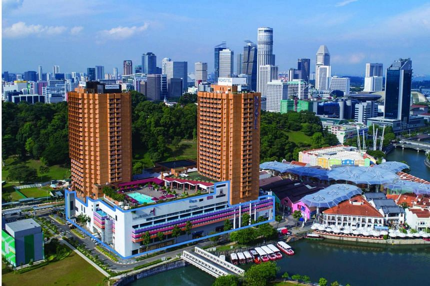 The site comprises Liang Court mall, Novotel Singapore Clarke Quay and Somerset Liang Court Singapore.