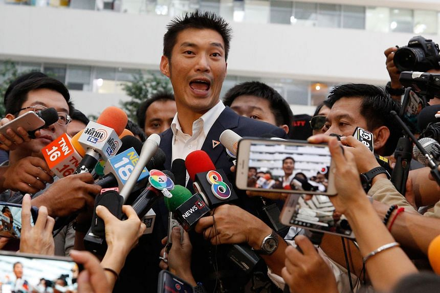 The court dated Mr Thanathorn Juangroongruangkit's disqualification to May 23, the day he was suspended as an MP. He maintained his innocence yesterday, dismissing the charge as being politically motivated.