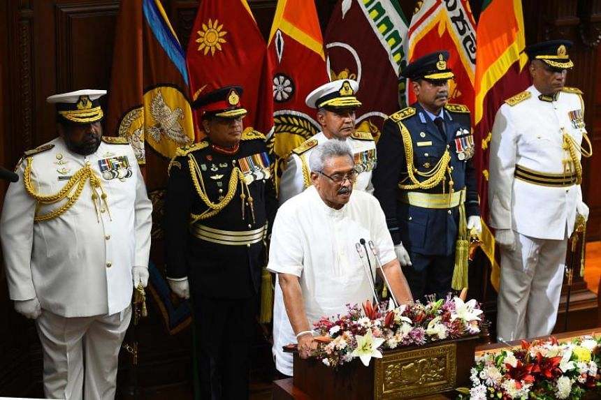 Gotabaya's cabinet includes brother Mahinda, two Tamils, a woman
