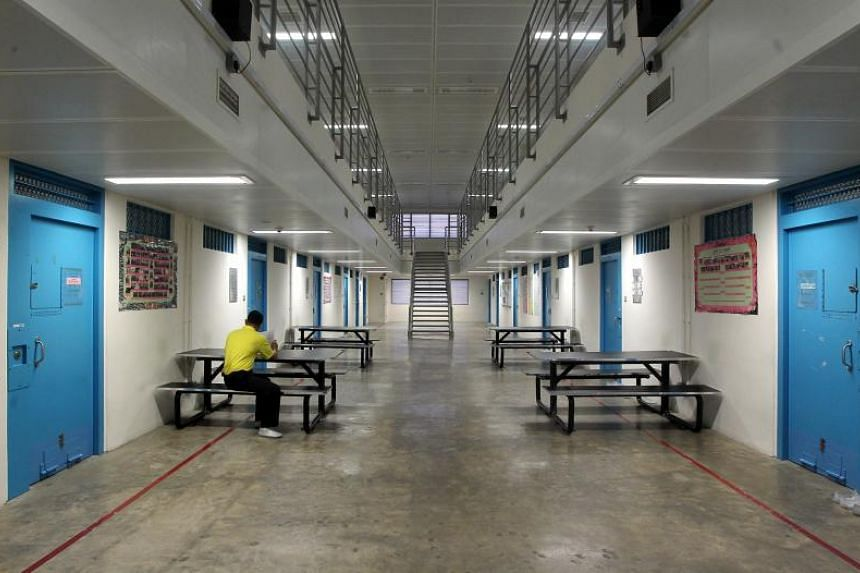 The interior of Changi Prison. A convicted Malaysian drug trafficker had his death sentence carried out on Nov 22, 2019, at Changi Prison Complex, after an unsuccessful petition to Singapore's President for clemency.