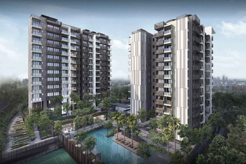 Urban Treasures comprises two 12-storey buildings with 237 apartments.