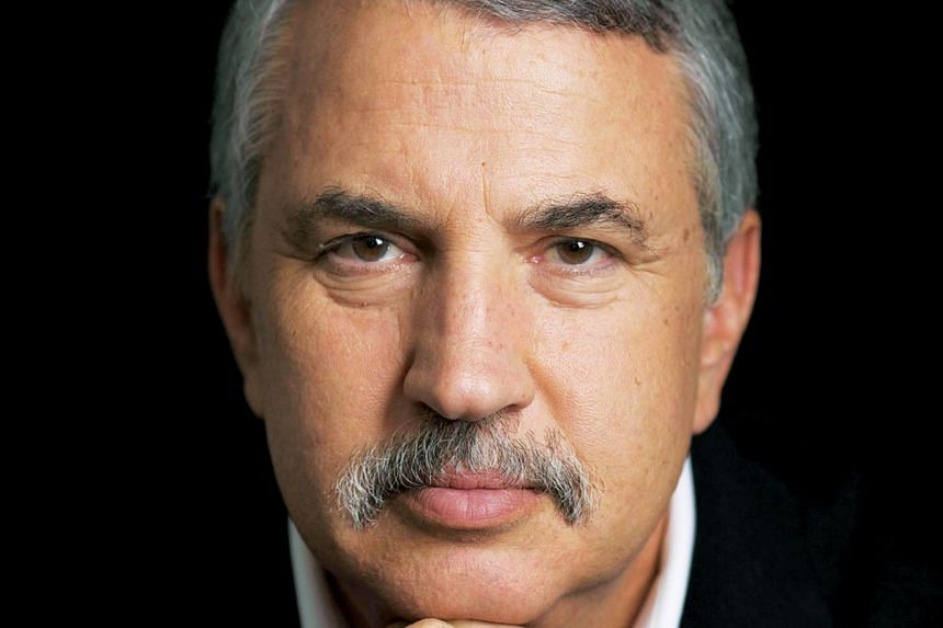 Speaking at a public lecture organised by the Lee Kuan Yew School of Public Policy, New York Times columnist Thomas Friedman (above) says US President Donald Trump was right to take on China because it did not play fair.