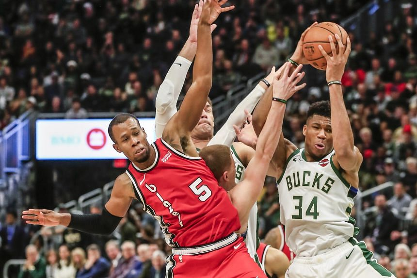 Giannis Antetokounmpo of the Milwaukee Bucks secured his 16th career triple-double midway through the third quarter of the game against the Portland Trail blazers.