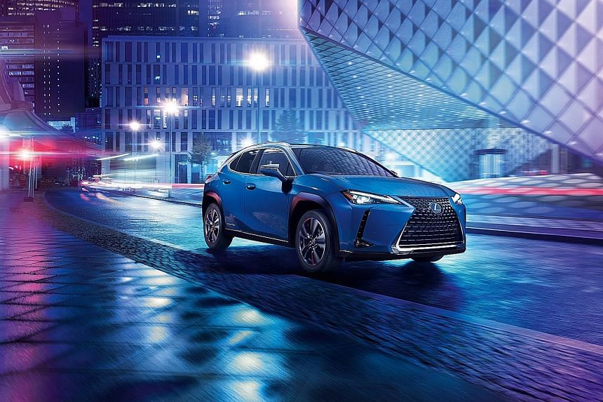 The Lexus UX300e does not offer one-pedal driving - a trademark of many electric models - but requires the driver to use the brake pedal to shed speed.