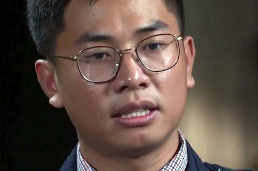 """Mr Wang """"William"""" Liqiang, whose claims and identity have yet to be verified, is reportedly hiding in Sydney. Mr Wang gave a statement about his activities to the Australian Security Intelligence Organisation, and said in an interview with Nine Newsp"""
