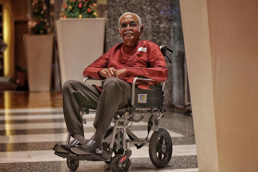 Mr Bala Subramanion, who is 102, also devoted his free time to other community projects such as the renovation of the Sri Sivan Temple.
