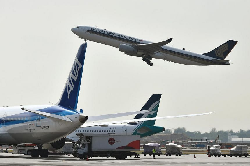 Airline passenger growth in Asia has moderated this year to 4.4 per cent in the nine months ended Sept 30, down from 7.7 per cent for the same period in 2018.