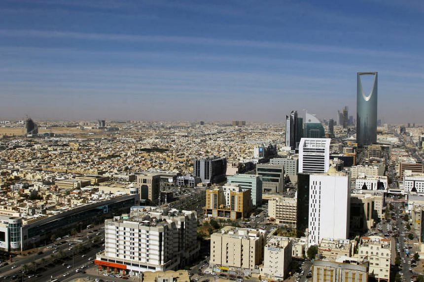A view of Kingdom Centre and other buildings in Riyadh. At least eight people were taken from their homes in Riyadh and Jeddah last week by plainclothes police.