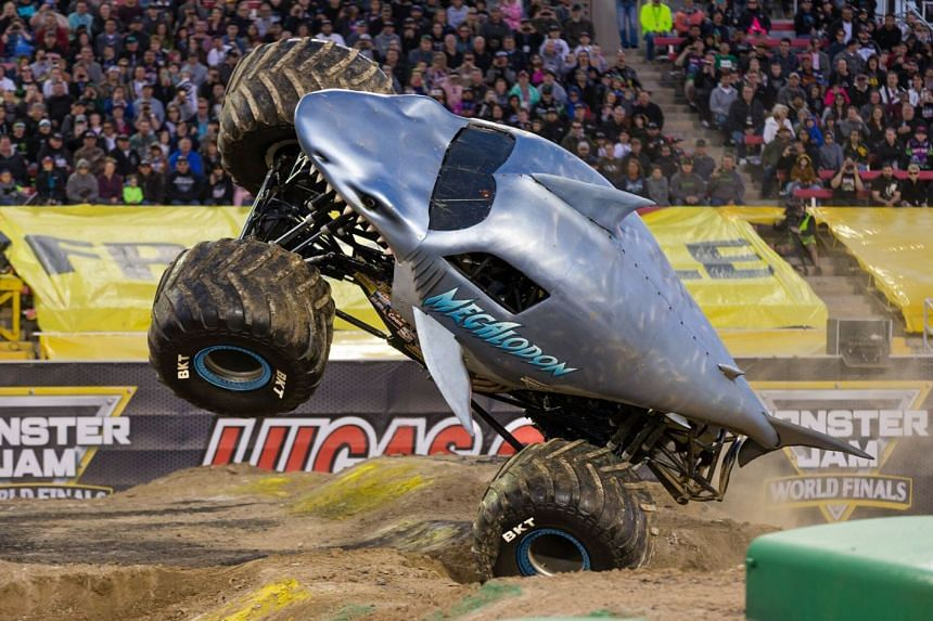 Monster Trucks Raring To Go Life News Top Stories The Straits Times