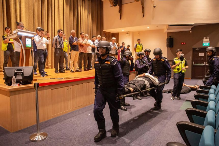 Codenamed Exercise Heartbeat, the drill on Nov 24, 2019, was part of a series of anti-terrorism exercises held at various locations.