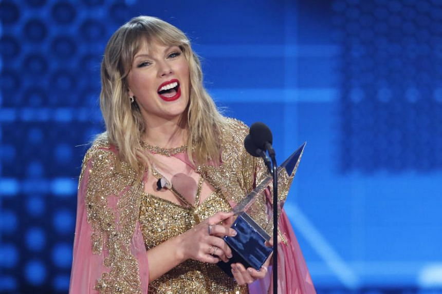Taylor Swift's five competitive wins at the American Music Awards pushed her tally to 28, eclipsing Michael Jackson's 24 career triumphs.