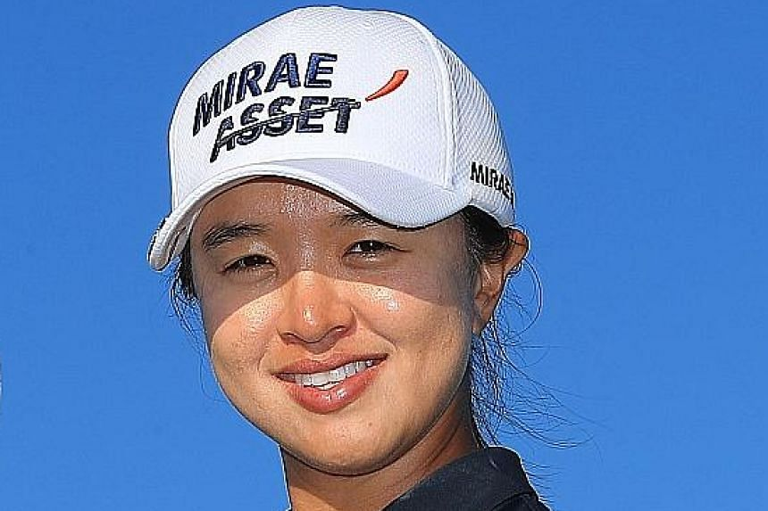Kim Sei-young's LPGA Tour Championship win is her third title this year.
