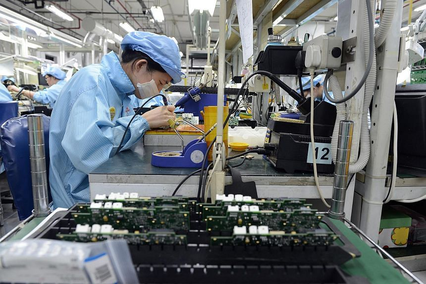 Singapore's factory output increased 4 per cent in October year on year, according to figures released by EDB on Nov 26, 2019.