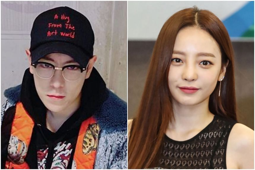 BigBang singer T.O.P is braving possible scorn from K-pop fans by posting screenshots of messages from Goo Hara.