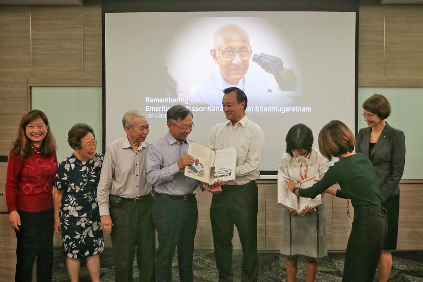 At the Singapore Cancer Registry's book launch yesterday were (from left) Professor Tan Puay Hoon, chairman of Singapore General Hospital's (SGH) Division of Pathology; Associate Professor Ivy Sng, SGH visiting consultant; Emeritus Professor Lee Hin