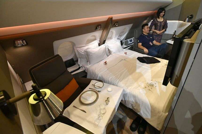 The first class suite in the Singapore Airlines (SIA) A380. SIA snagged the Best First Class Airline accolade from AirlineRatings.