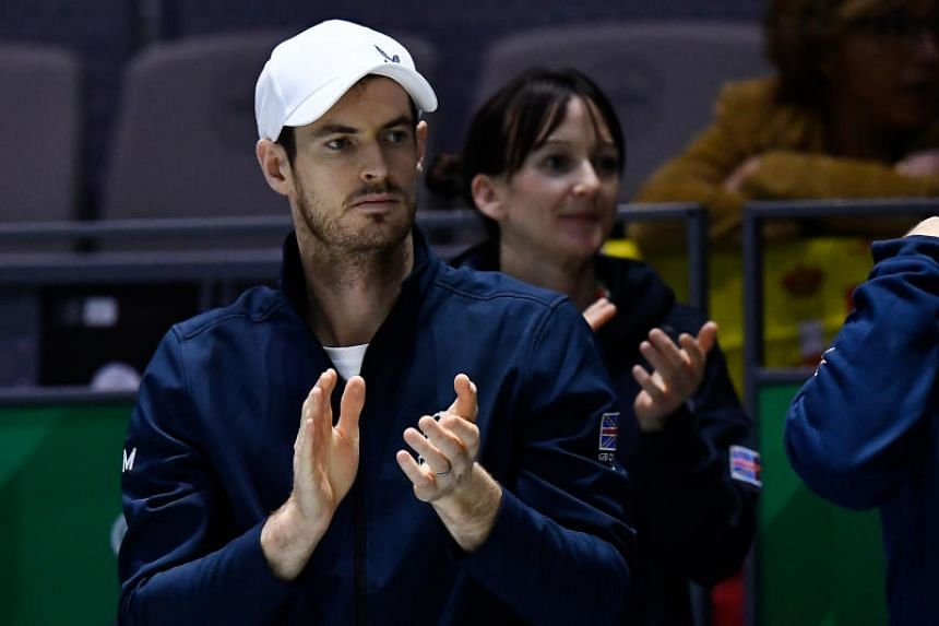 Andy Murray expects next year's Australian Open to be the biggest test of his progress.