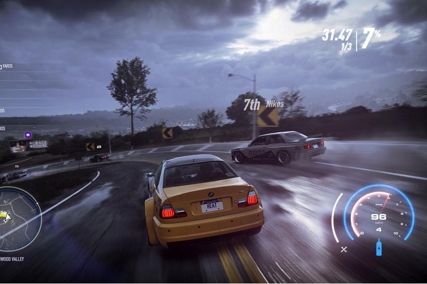 Need for Speed Heat is an open-world arcade racing game similar to Microsoft's Forza Horizon series.