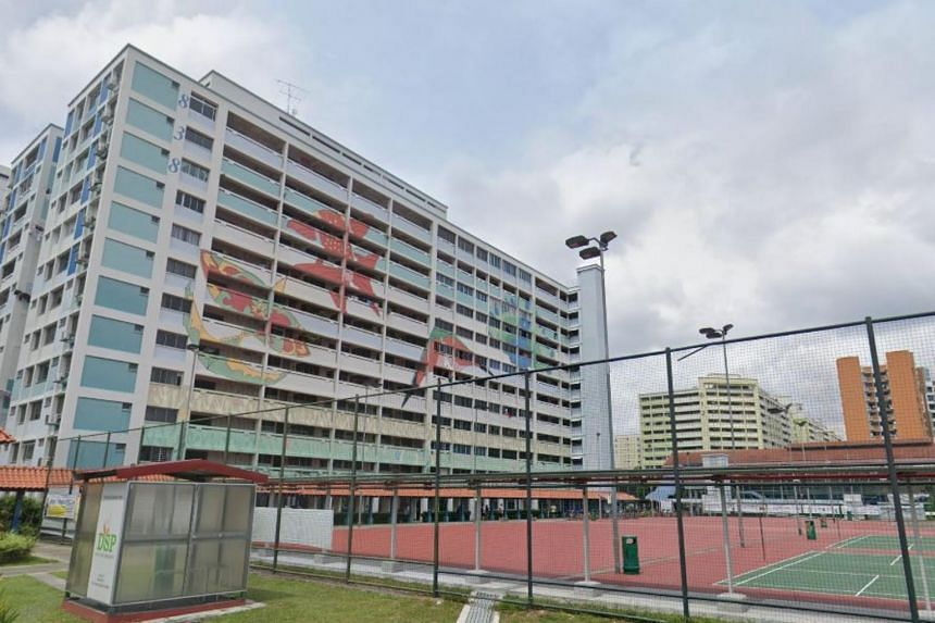 The boy was said to be knocked down at a basketball court near Block 838 Yishun Street 81.
