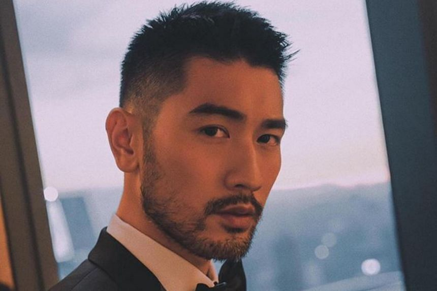 Godfrey Gao had been filming Chase Me - a night-time variety series by Zhejiang Television which focuses on physical tasks for its contestants.