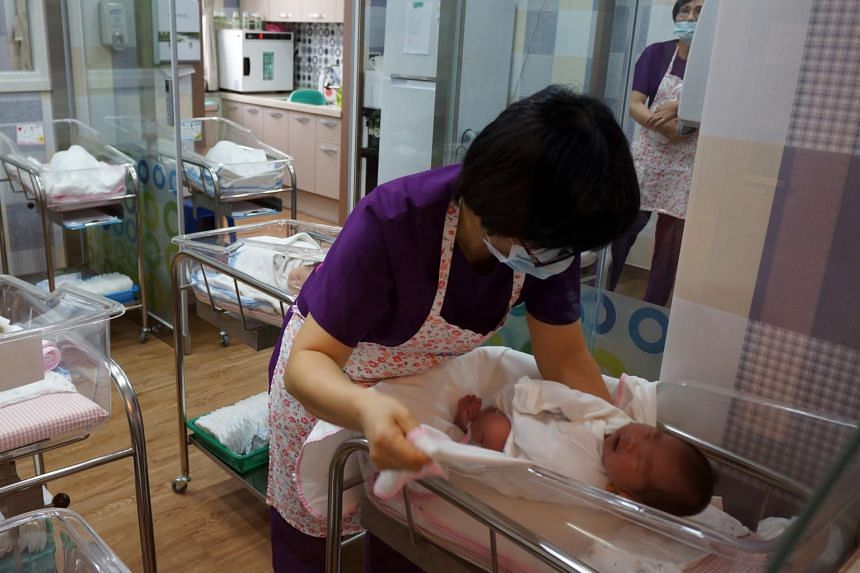 South Korea's fertility rate fell to 0.88 between July and September.