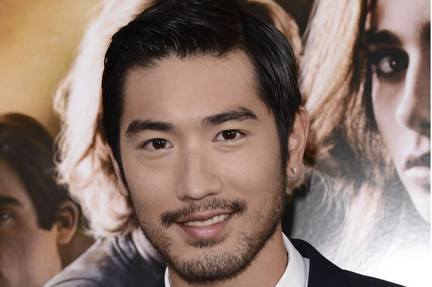 Godfrey Gao arriving at the world premiere of The Mortal Instruments: City Of Bones at the ArcLight Cinerama Dome in Los Angeles on Aug 12, 2013.