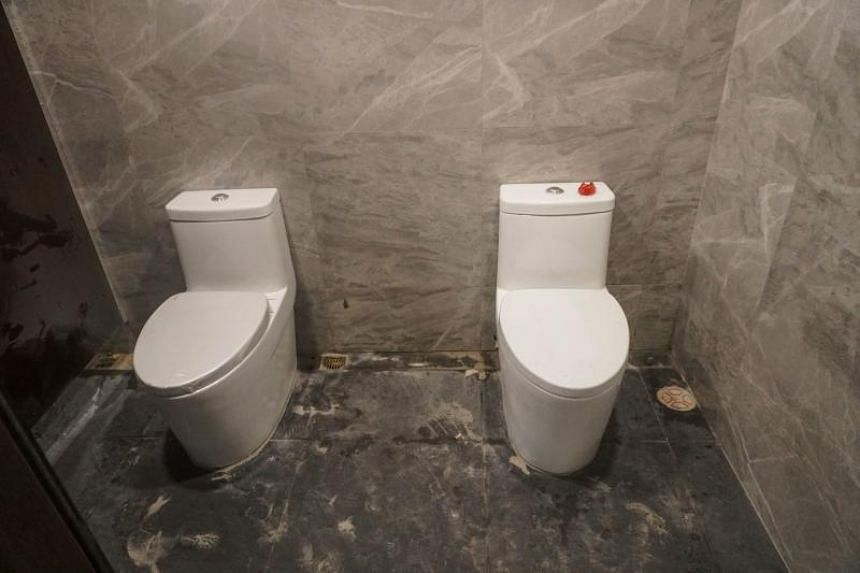 A photo of two toilet bowls in one stall at the Rizal Memorial Sports Complex in Manila went viral but the Philippine Sports Commission said the photo had been taken while the facility was under renovation.