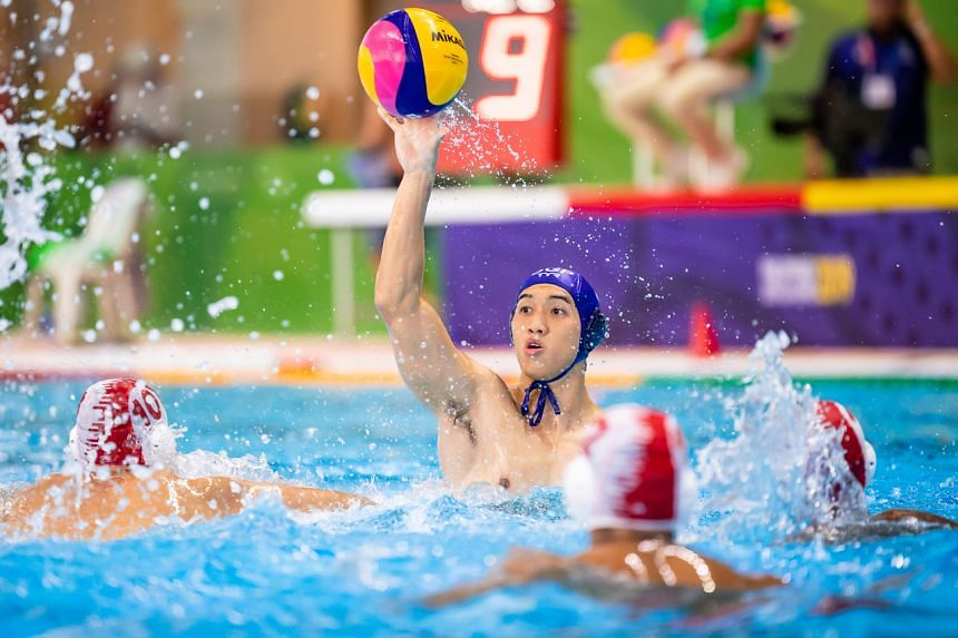 Singapore's men's water polo team lost to Indonesia 5-7 in their SEA Games round-robin match on Nov 28, 2019.